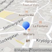 Karta Charlotta Eklöf Visby, Sverige