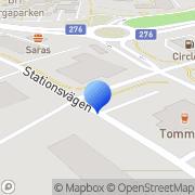 Karta Spike Åkersberga, Sverige