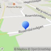 Karta Mla Consulting AB Åkersberga, Sverige
