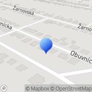 Map HOFI servis s.r.o. Oslany, Slovakia