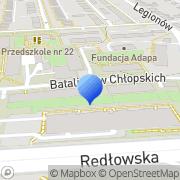 Mapa MS-Project Gdynia, Polska