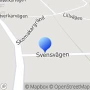 Karta Engmans Mekaniska Verkstad Hallstavik, Sverige