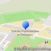 Mapa Demal Dębowiec, Polska