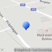 Karta Komut Norr Malå, Sverige