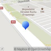 Mapa Komfort SA Bytom, Polska