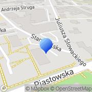 Mapa Samborski Adam. Reklama Bielsko-Biała, Polska