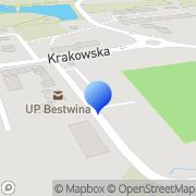 Mapa Pilarczyk W. Reklama Bestwina, Polska