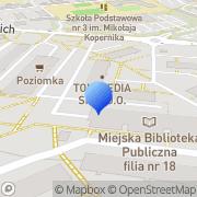 Mapa Art. spożywcze Dąbrowa Górnicza, Polska