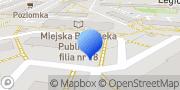 Mapa Przedsiębiorstwo Wielobranżowe EKO-REK Mirosław Bajor Dąbrowa Górnicza, Polska