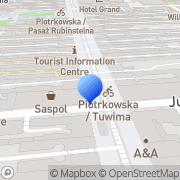 Mapa Sphinx Łódź, Polska