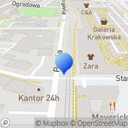 Mapa Bilakis Kraków, Polska