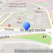 Mapa Multiserw Kraków, Polska
