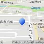 Mapa PiN Ostróda, Polska