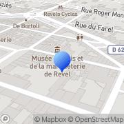 Carte de G.M.P. S.A. Revel, France