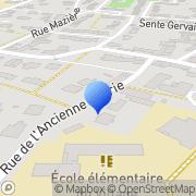 Carte de C.D.M. France S.A. Montigny-le-Bretonneux, France