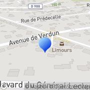 Carte de C.D.M. S.A.R.L. Limours, France