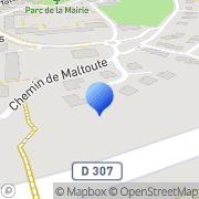 Carte de B.S.F. S.A. - Bureautique Service France Bailly, France