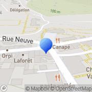 Carte de C.S. Systèmes d'Information S.A. Gif-sur-Yvette, France