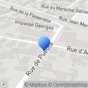 Carte de I.S.A. Electronique S.A. Maisons-Laffitte, France