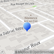 Carte de Ashland France S.A.S. Bezons, France