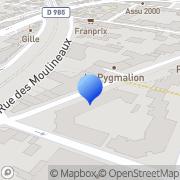 Carte de Sauvaget et Compagnie S.A. Suresnes, France
