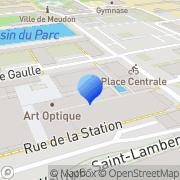 Carte de Amplifon Meudon, France