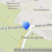 Carte de Bourdin et Fils S.A.R.L. Meudon, France
