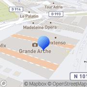 Carte de Belleme S.A. Puteaux, France