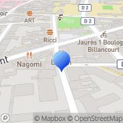Carte de Abacad S.A.R.L. Boulogne-Billancourt, France
