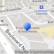 Carte de Delta Equipement S.A. La Garenne-Colombes, France