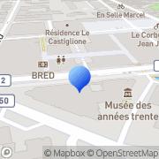 Carte de Hestia Assurances S.A.R.L. Boulogne-Billancourt, France