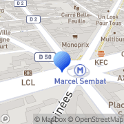 Carte de C.M.G. France S.A. Boulogne-Billancourt, France