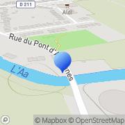 Carte de Deroo Félix S.A. Wizernes, France