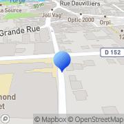 Carte de Domo S.A. Arpajon, France