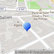 Carte de Selephar S.A.R.L. Boulogne-Billancourt, France