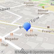 Carte de C.E.N. S.A. Neuilly-sur-Seine, France
