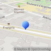 Carte de Arthur Andersen International Neuilly-sur-Seine, France