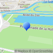Carte de Brenntag S.A. Amiens, France
