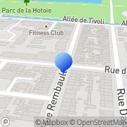 Carte de Gouze Fabien S.A. Amiens, France