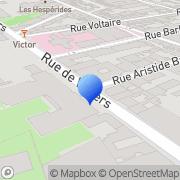 Carte de Aubert & Duval S.A. Neuilly-sur-Seine, France
