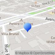 Carte de F.L. Régie S.A. Paris, France