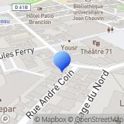 Carte de Eicon Networks S.A.R.L. Malakoff, France
