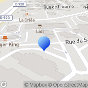 Carte de Eurogestion S.A. Massy, France