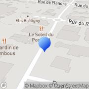 Carte de Entreprise Bouget S.A. Brétigny-sur-Orge, France