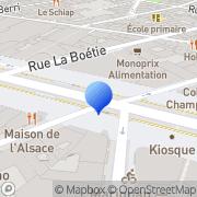 Carte de Finacor S.A. Paris, France