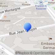 Carte de La Maison Champs Elysées (Ex- Sofitel Champs Elysées) Paris, France
