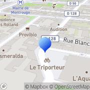 Carte de Culina S.A. Montrouge, France