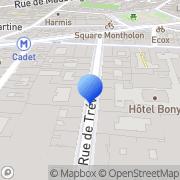 Carte de I. et E. Consultants Paris, France
