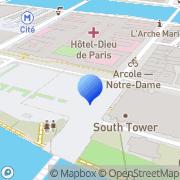 Carte de Influens Me Paris, France
