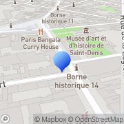 Carte de Adia S.A. Saint-Denis, France